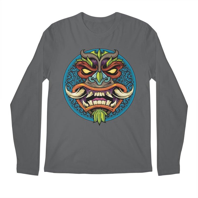 Salt Devils - Tiki Horn Men's Longsleeve T-Shirt by Salt Devils