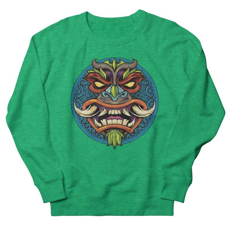 Salt Devils - Tiki Horn Women's Sweatshirt by Salt Devils