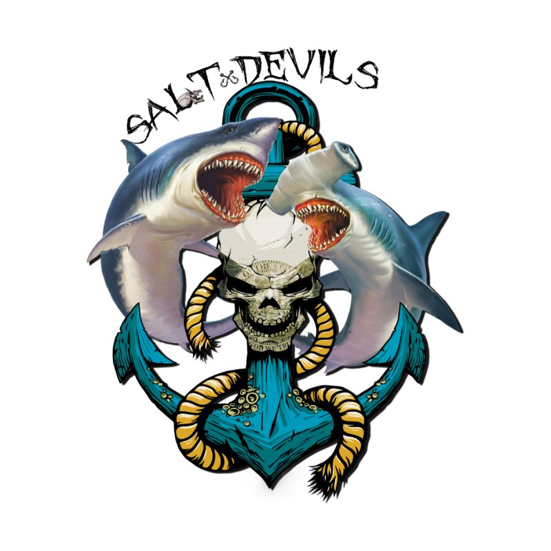 Salt Devils - Shark Anchor Women's Tank by Salt Devils