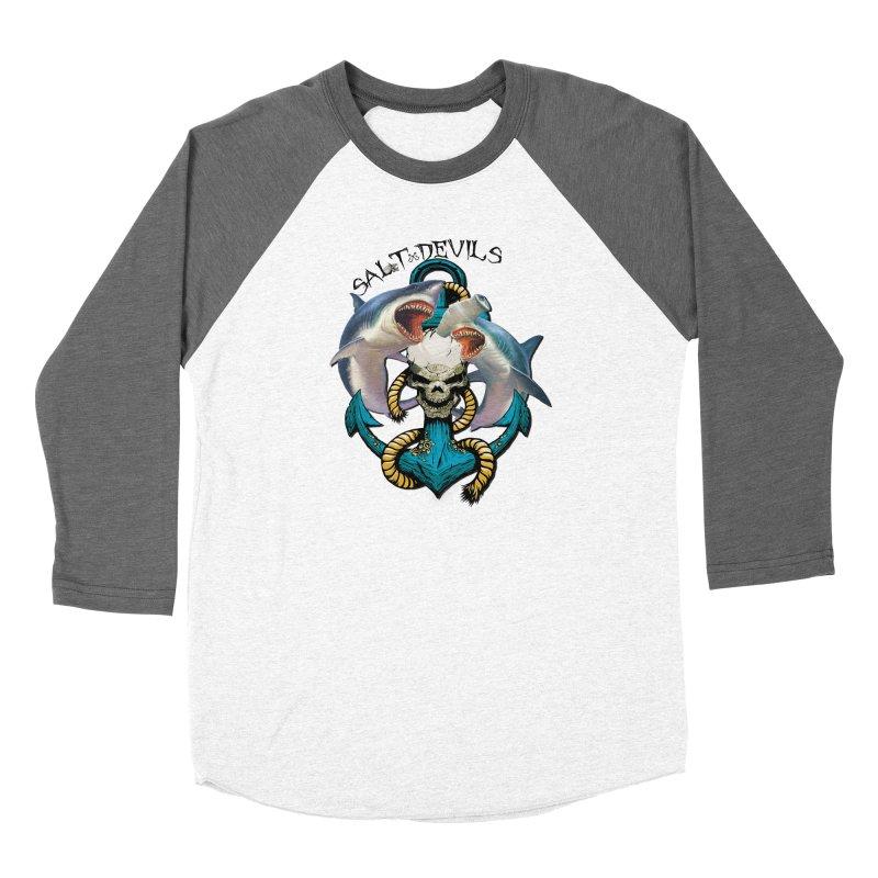 Salt Devils - Shark Anchor Women's Longsleeve T-Shirt by Salt Devils