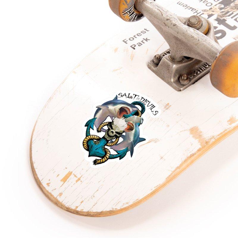 Salt Devils - Shark Anchor Accessories Sticker by Salt Devils