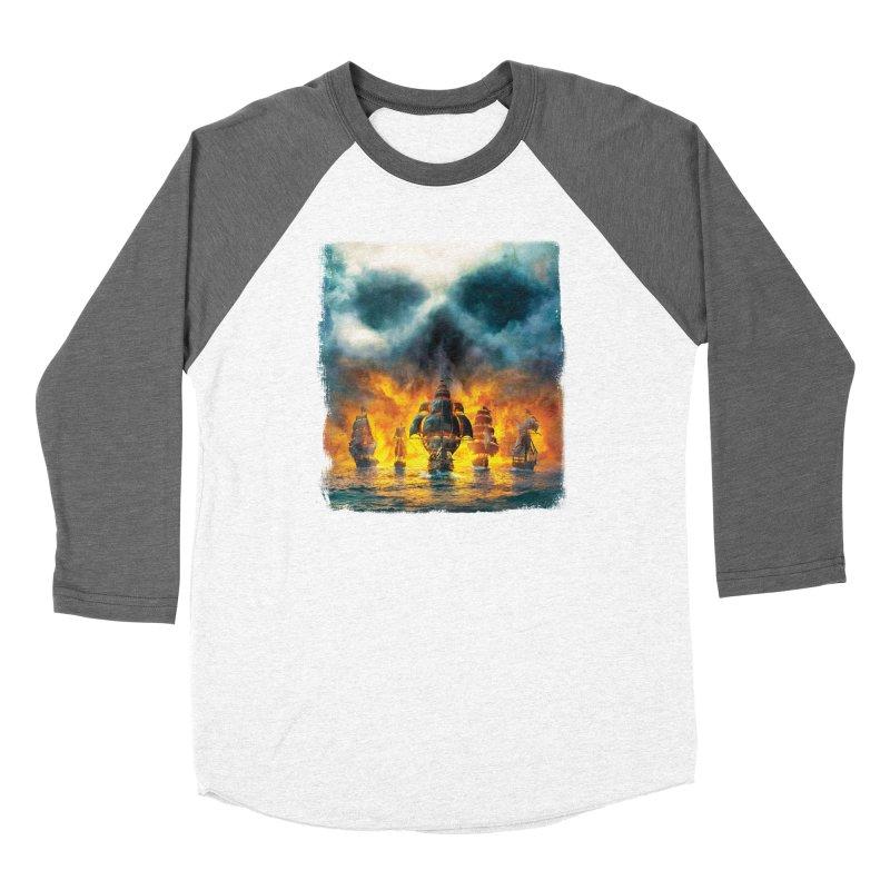 Salt Devils - Ghost Ship Women's Longsleeve T-Shirt by Salt Devils