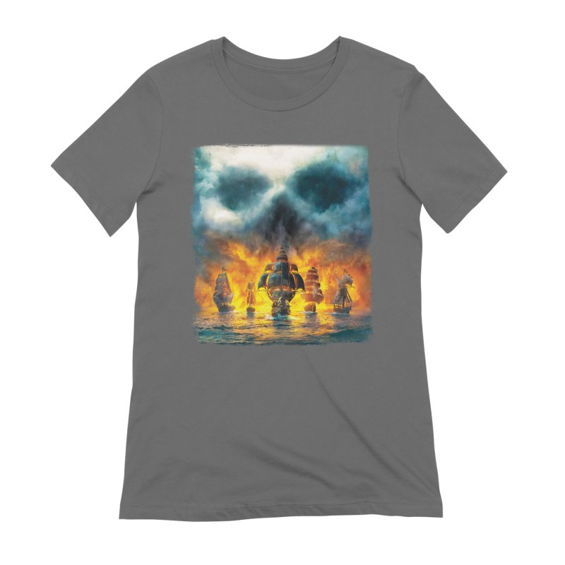 Salt Devils - Ghost Ship Women's T-Shirt by Salt Devils