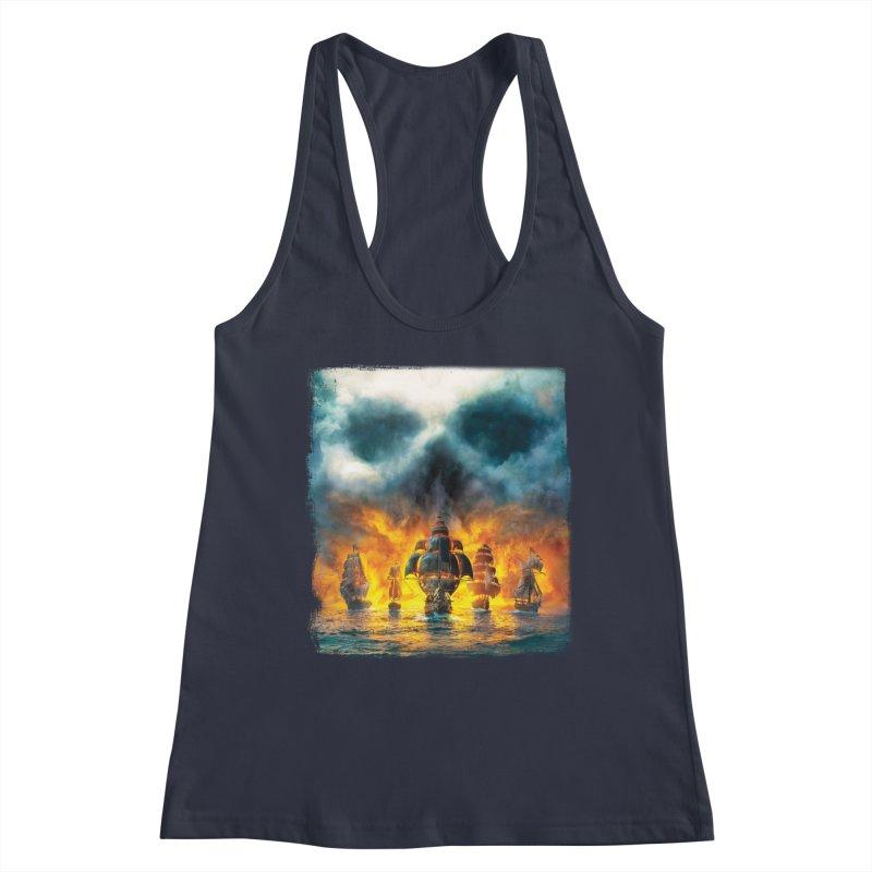 Salt Devils - Ghost Ship Women's Tank by Salt Devils