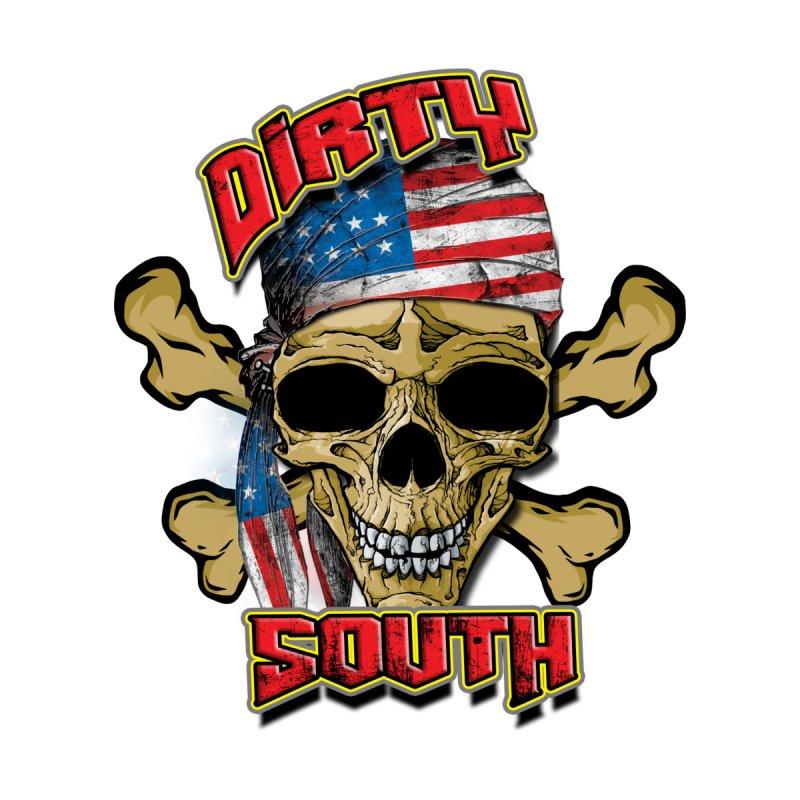 Salt Devils - Dirty South American Skull Accessories Magnet by Salt Devils