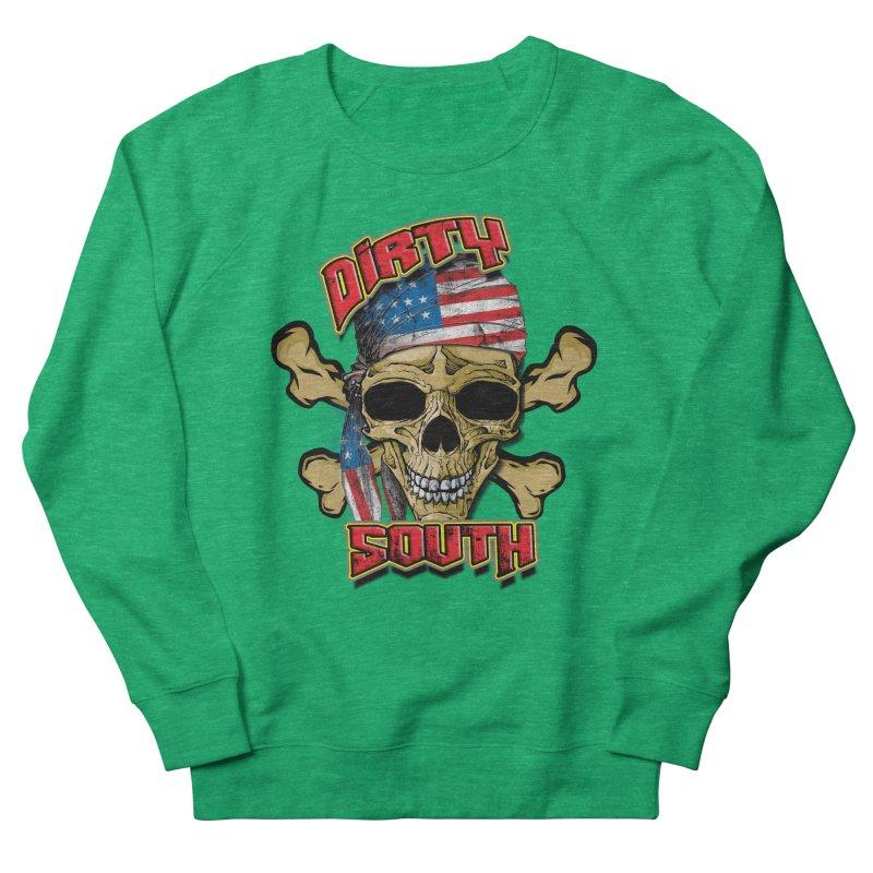 Salt Devils - Dirty South American Skull Women's Sweatshirt by Salt Devils