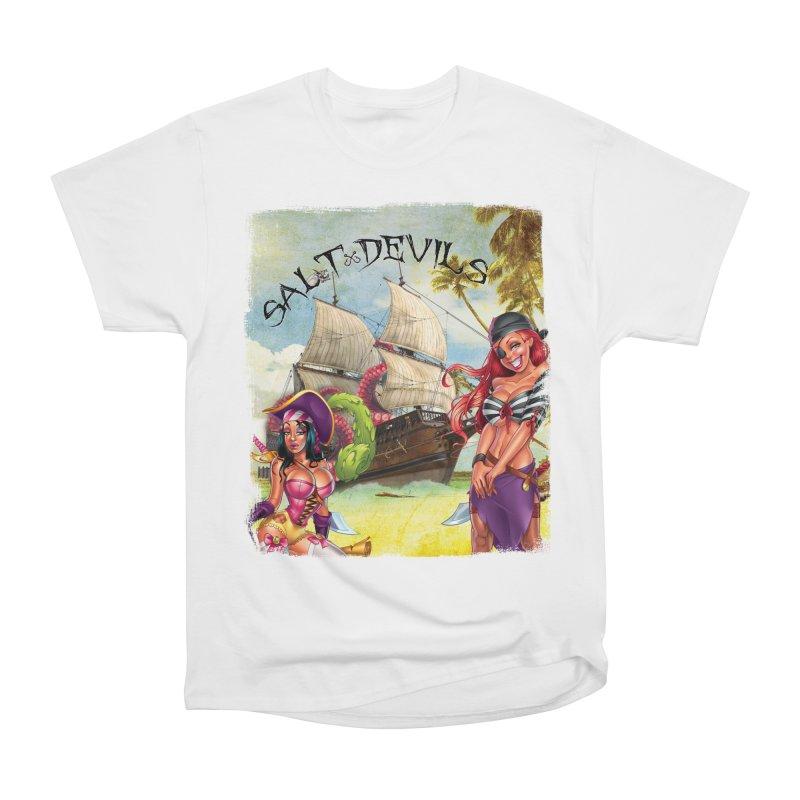 Salt Devils - Kraken Wench Women's T-Shirt by Salt Devils