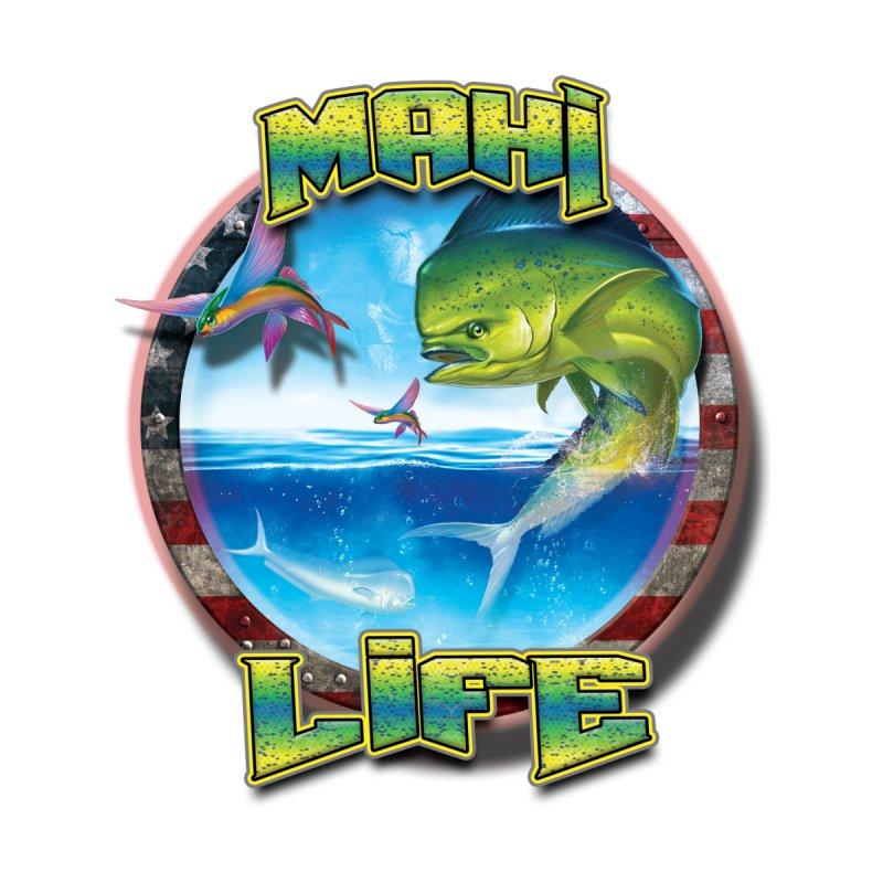Salt Devils - Mahi Life Kids T-Shirt by Salt Devils