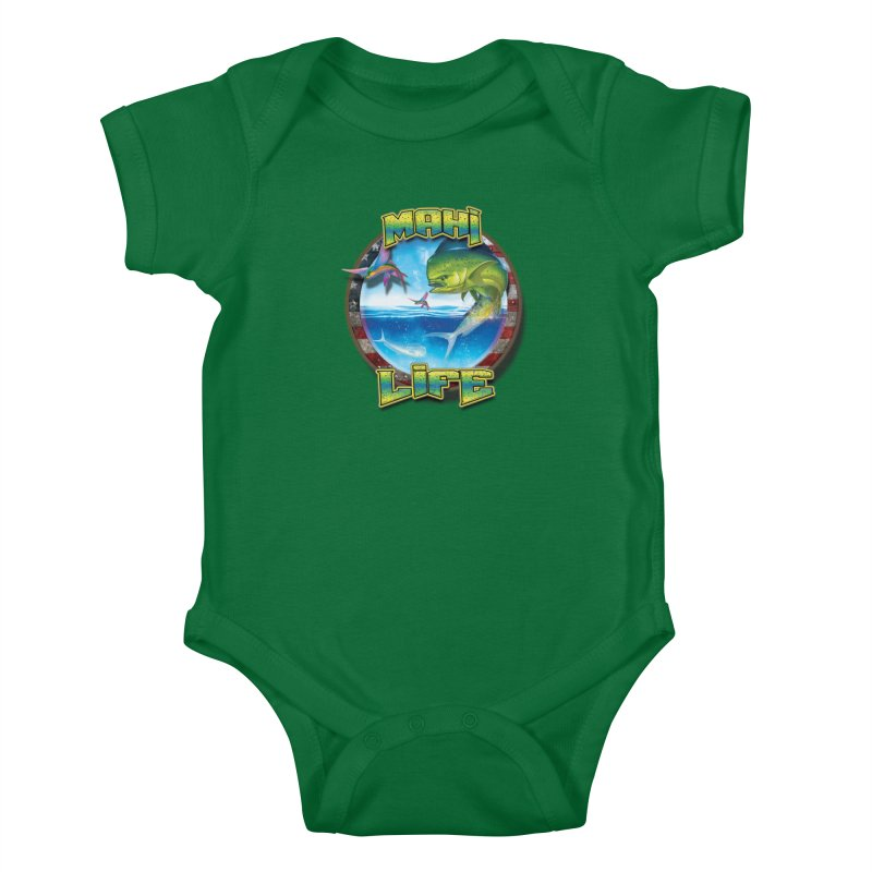 Salt Devils - Mahi Life Kids Baby Bodysuit by Salt Devils