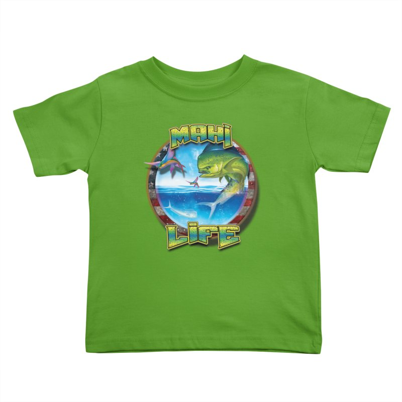 Salt Devils - Mahi Life Kids Toddler T-Shirt by Salt Devils