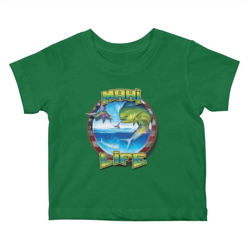 Salt Devils - Mahi Life Kids Baby T-Shirt by Salt Devils