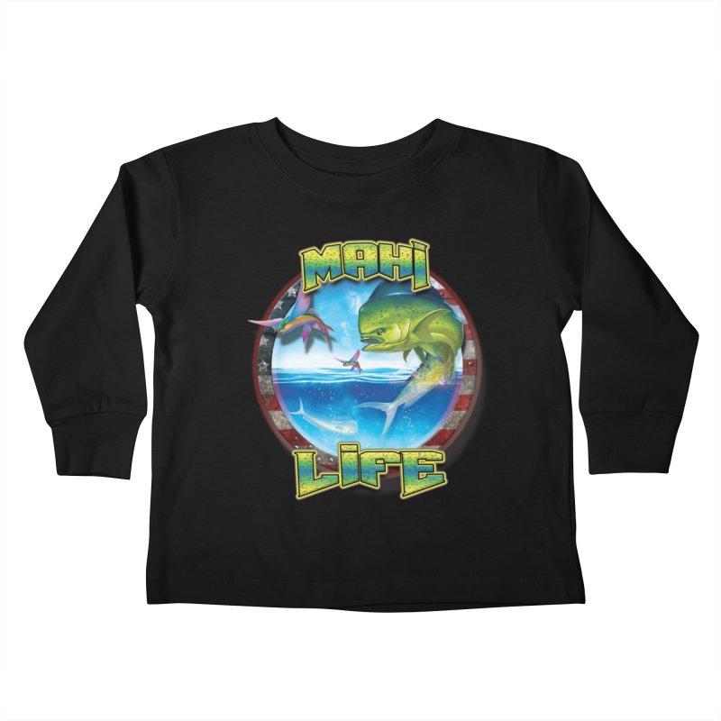 Salt Devils - Mahi Life Kids Toddler Longsleeve T-Shirt by Salt Devils