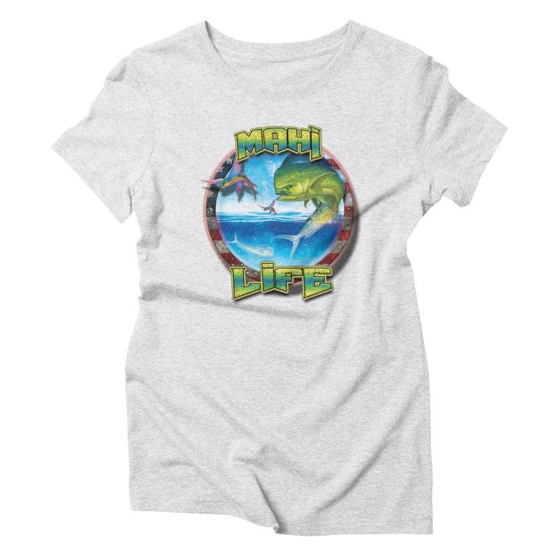 Salt Devils - Mahi Life Women's T-Shirt by Salt Devils
