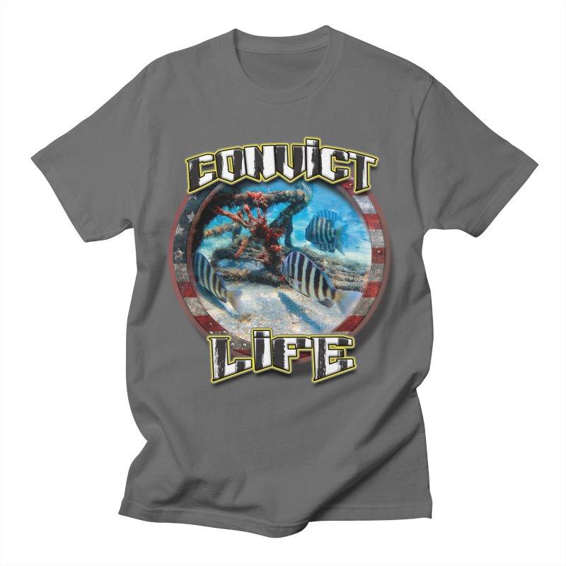 Salt Devils - Convict Life Men's T-Shirt by Salt Devils