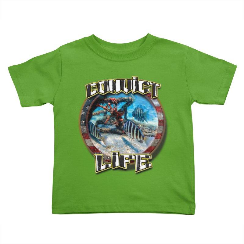 Salt Devils - Convict Life Kids Toddler T-Shirt by Salt Devils