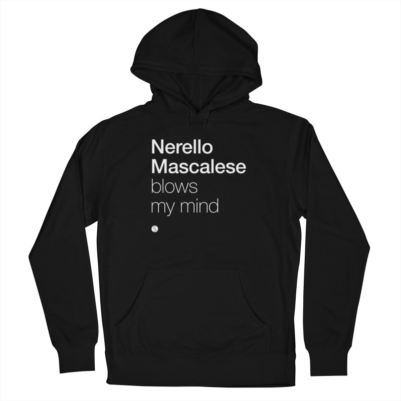 Nerello Mascalese Blows My Mind Women's French Terry Pullover Hoody by Salty Shirts