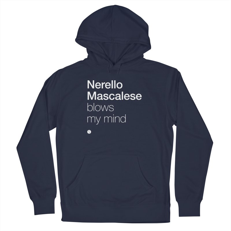 Nerello Mascalese Blows My Mind Men's French Terry Pullover Hoody by Salty Shirts
