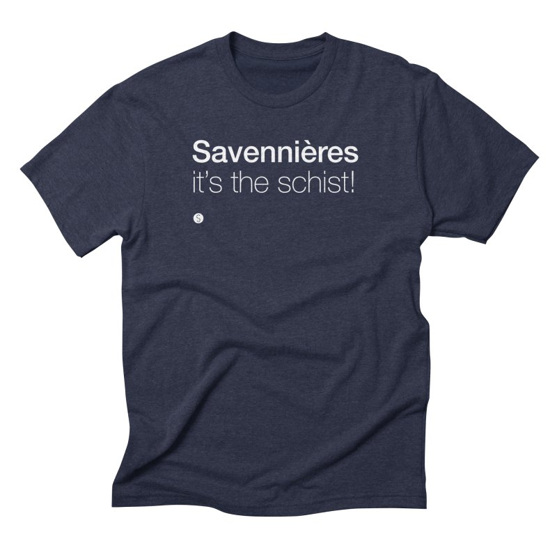 Savennières. It's The Schist! Men's Triblend T-Shirt by Salty Shirts