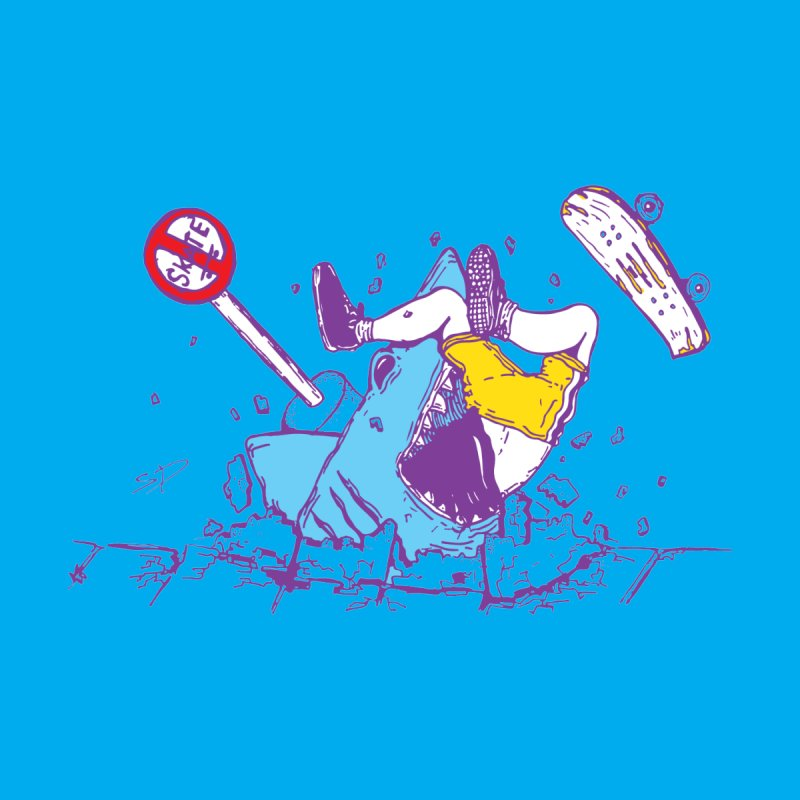 Sidewalk Surfer by The Salty Studios @ Threadless