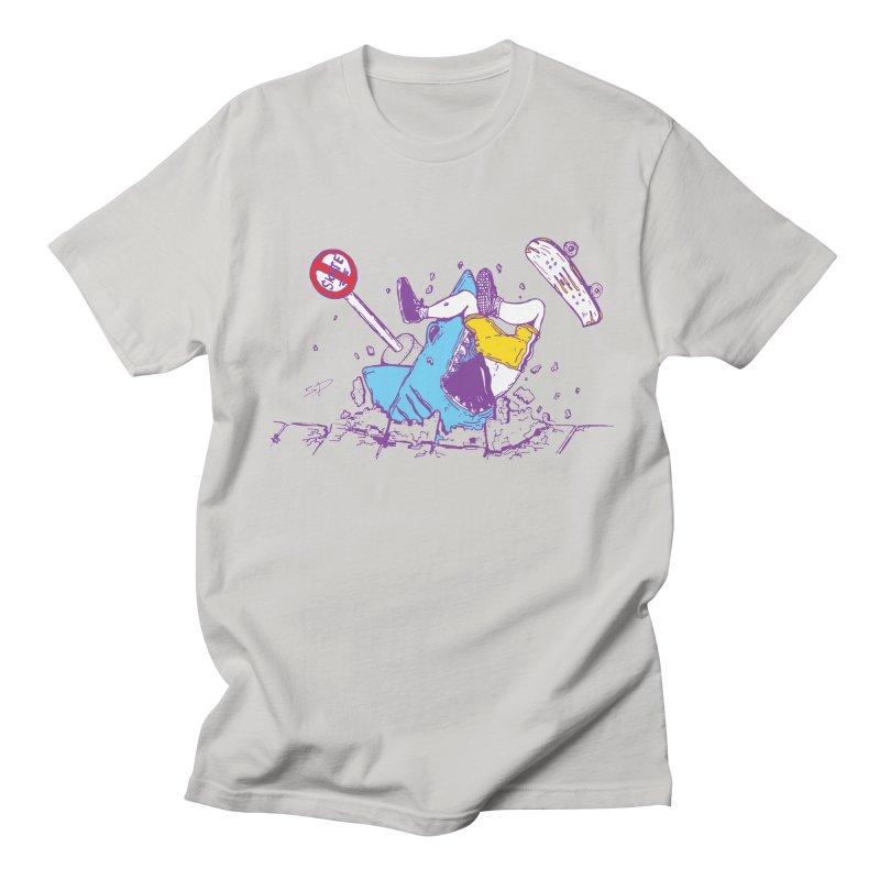 Sidewalk Surfer Women's Unisex T-Shirt by The Salty Studios @ Threadless