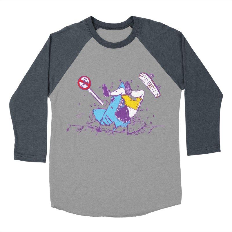 Sidewalk Surfer Women's Baseball Triblend T-Shirt by The Salty Studios @ Threadless