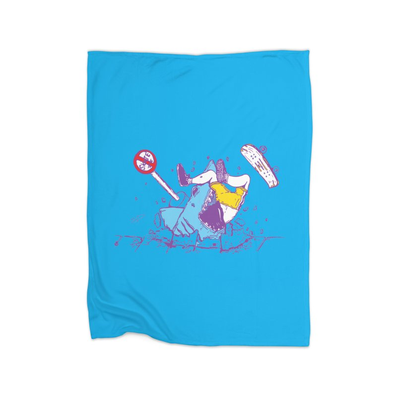 Sidewalk Surfer Home Blanket by The Salty Studios @ Threadless