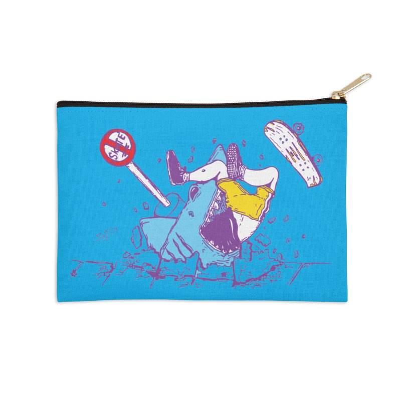 Sidewalk Surfer Accessories Zip Pouch by The Salty Studios @ Threadless