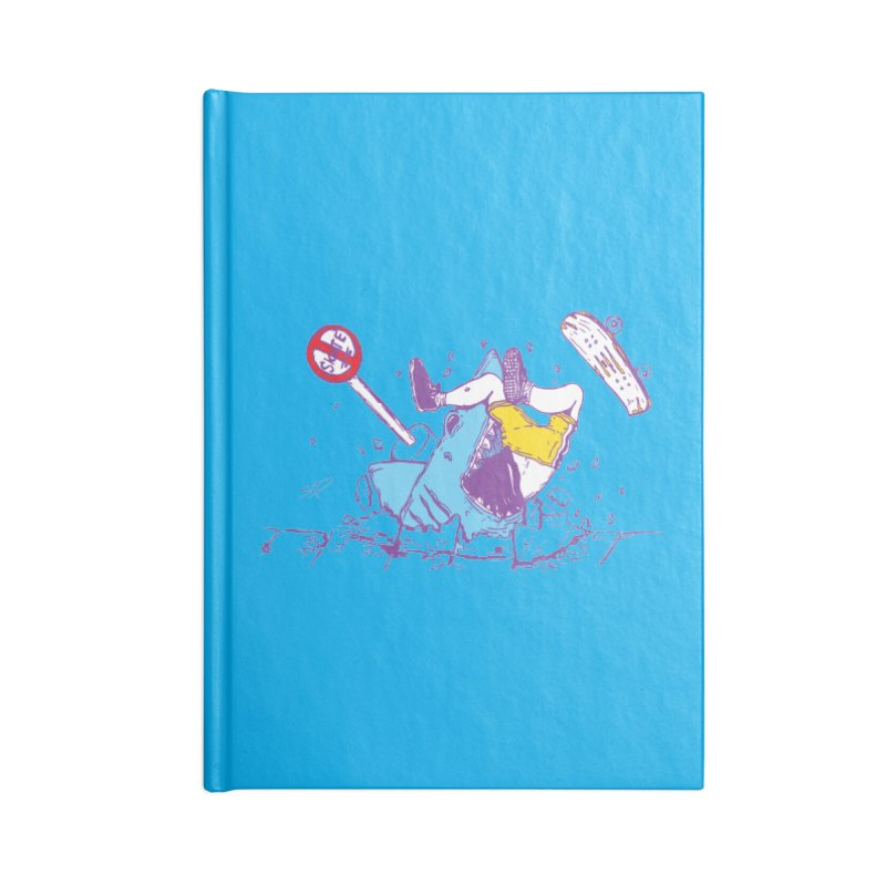 Sidewalk Surfer Accessories Notebook by The Salty Studios @ Threadless