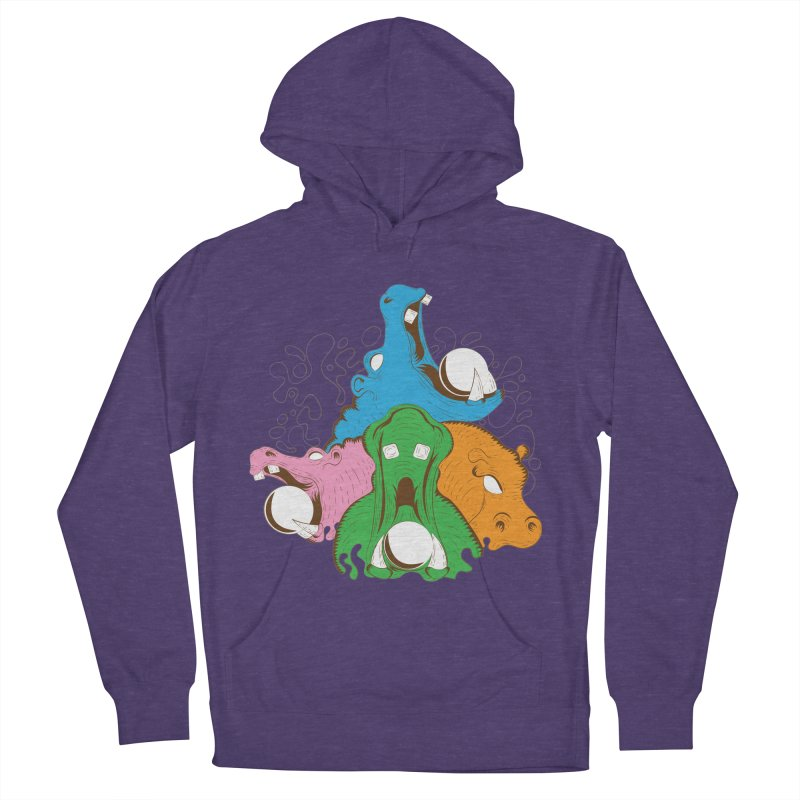 Hangry Hangry Hippos Women's Pullover Hoody by The Salty Studios @ Threadless