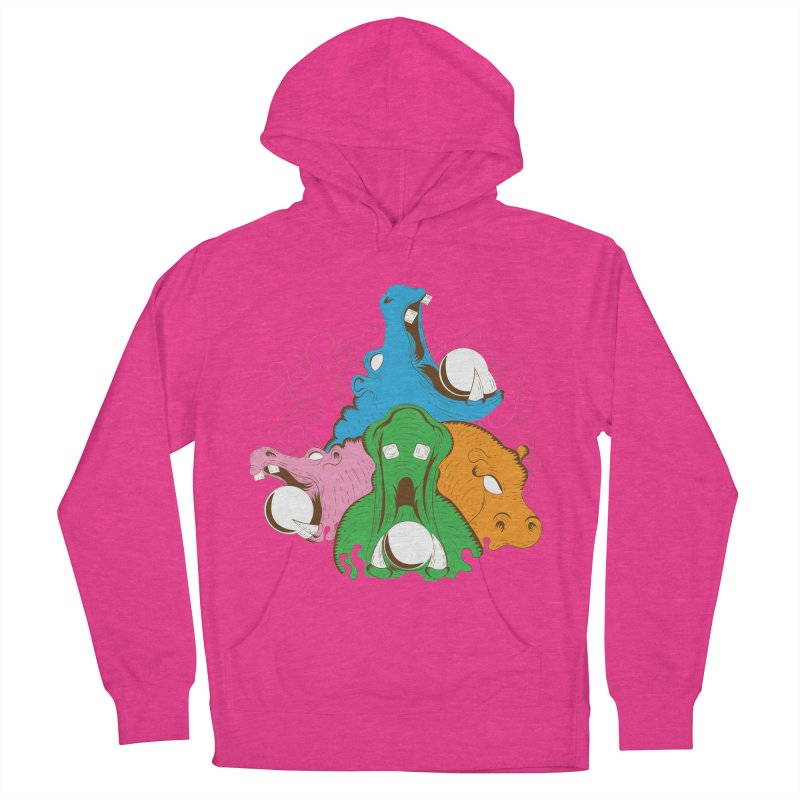 Hangry Hangry Hippos Men's Pullover Hoody by The Salty Studios @ Threadless