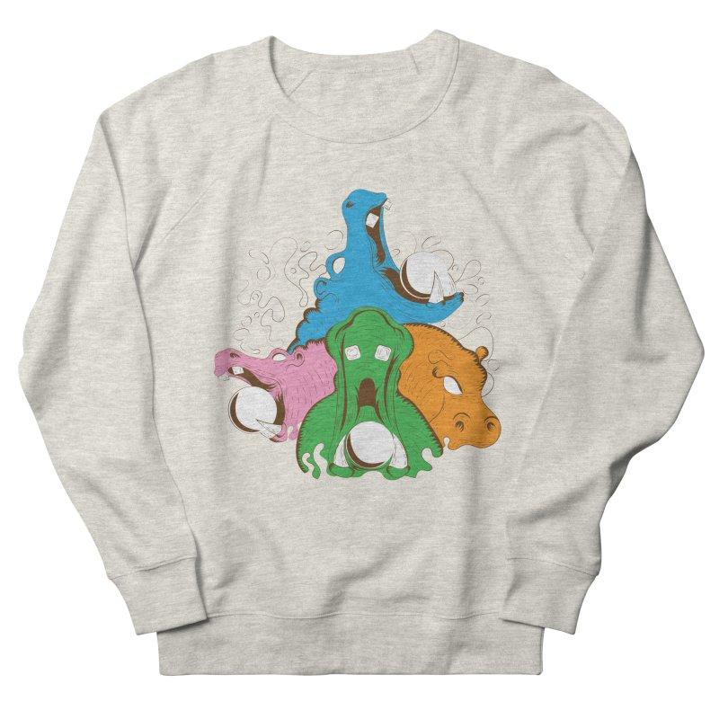 Hangry Hangry Hippos Women's Sweatshirt by The Salty Studios @ Threadless