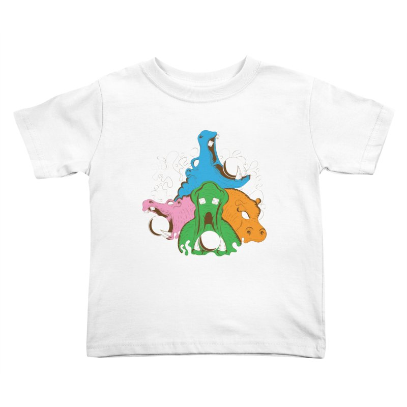 Hangry Hangry Hippos Kids Toddler T-Shirt by The Salty Studios @ Threadless