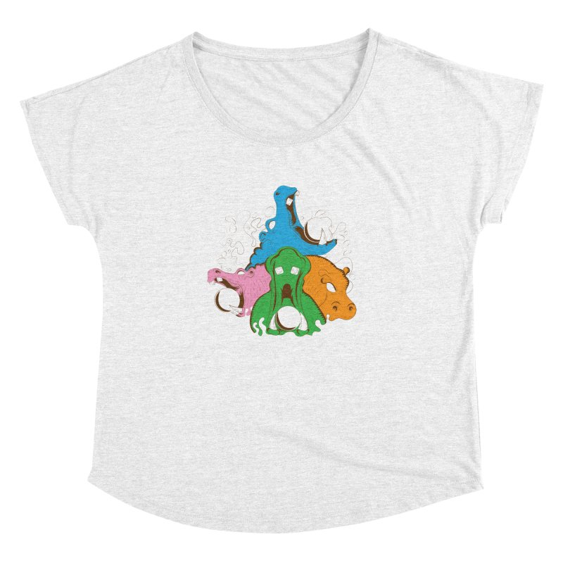 Hangry Hangry Hippos Women's Dolman by The Salty Studios @ Threadless
