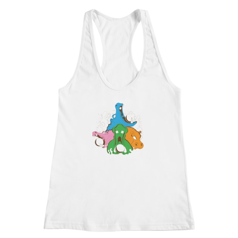 Hangry Hangry Hippos   by The Salty Studios @ Threadless