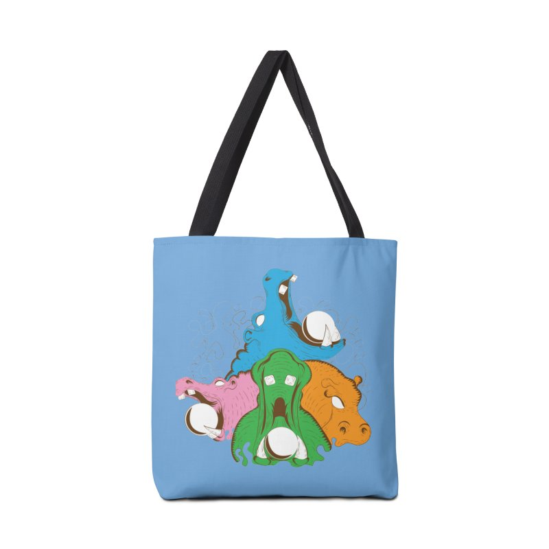 Hangry Hangry Hippos Accessories Bag by The Salty Studios @ Threadless