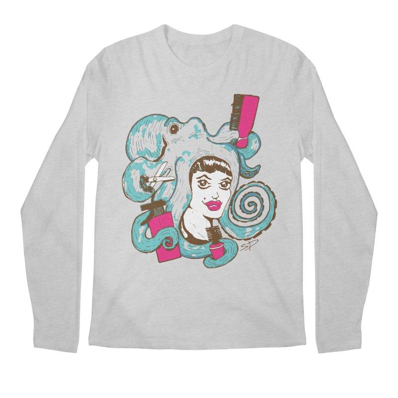 Octocuts Men's Longsleeve T-Shirt by The Salty Studios @ Threadless