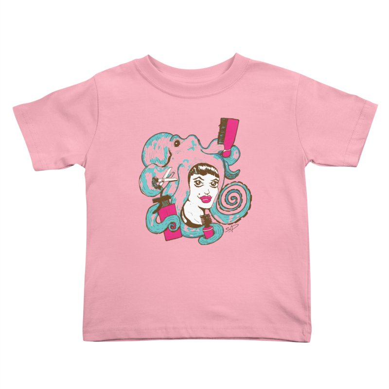 Octocuts Kids Toddler T-Shirt by The Salty Studios @ Threadless
