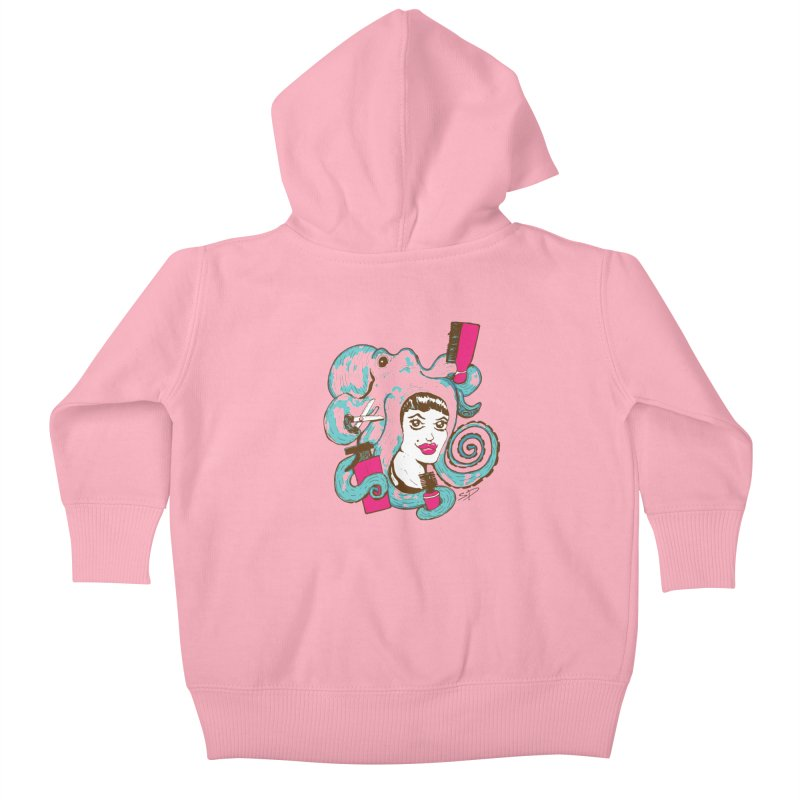 Octocuts Kids Baby Zip-Up Hoody by The Salty Studios @ Threadless