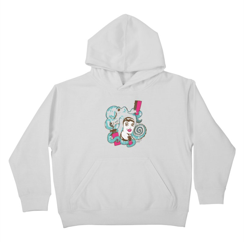 Octocuts Kids Pullover Hoody by The Salty Studios @ Threadless