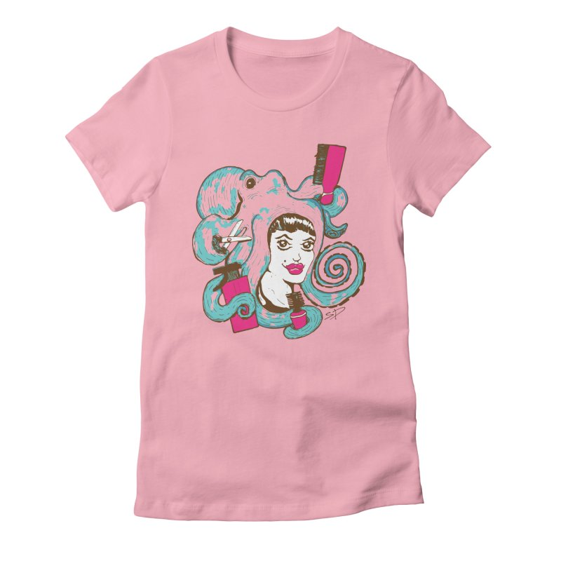 Octocuts Women's Fitted T-Shirt by The Salty Studios @ Threadless