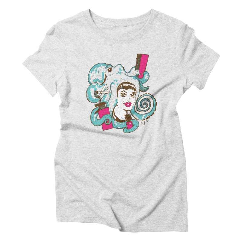 Octocuts Women's Triblend T-shirt by The Salty Studios @ Threadless
