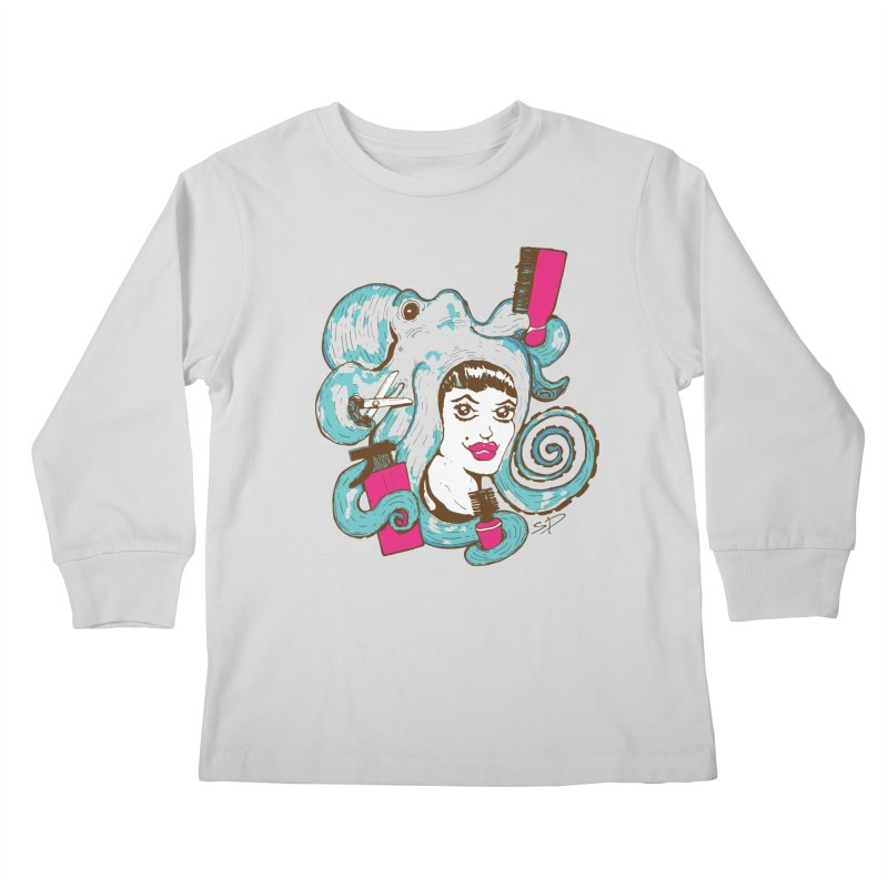 Octocuts Kids Longsleeve T-Shirt by The Salty Studios @ Threadless
