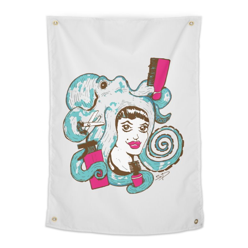 Octocuts Home Tapestry by The Salty Studios @ Threadless