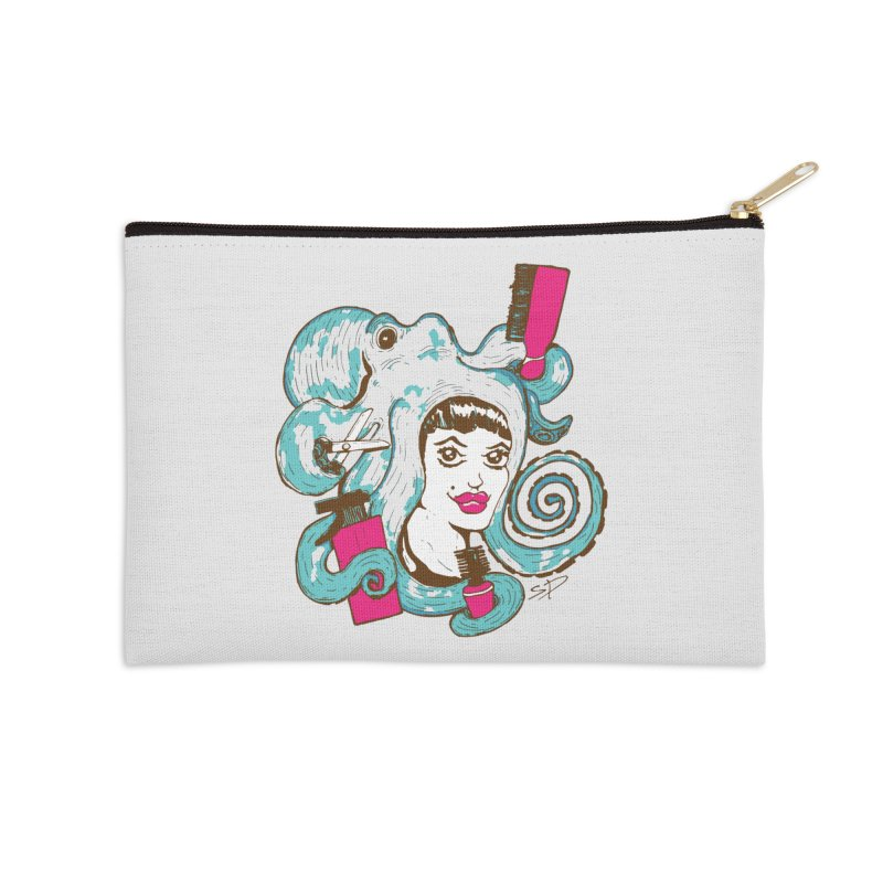 Octocuts Accessories Zip Pouch by The Salty Studios @ Threadless