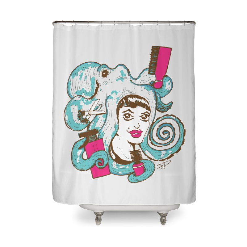 Octocuts Home Shower Curtain by The Salty Studios @ Threadless