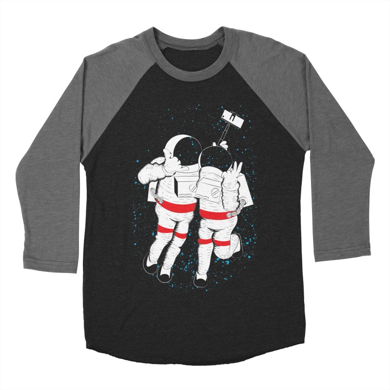 Spacie Men's Baseball Triblend T-Shirt by The Salty Studios @ Threadless