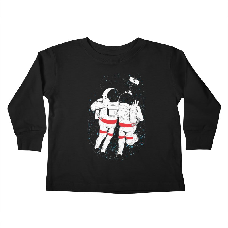 Spacie Kids Toddler Longsleeve T-Shirt by The Salty Studios @ Threadless