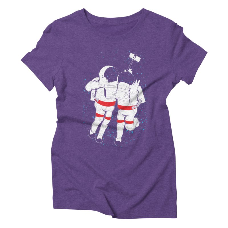 Spacie Women's Triblend T-shirt by The Salty Studios @ Threadless