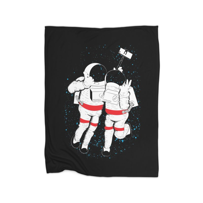 Spacie Home Blanket by The Salty Studios @ Threadless