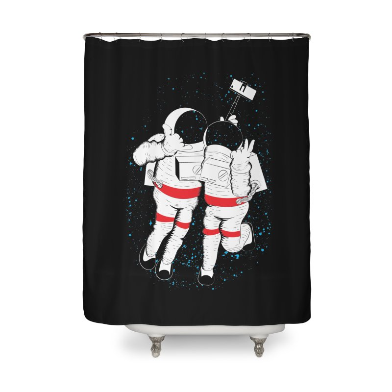 Spacie Home Shower Curtain by The Salty Studios @ Threadless